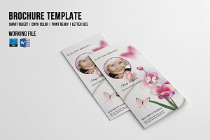 Trifold Funeral Template-V415