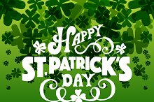 St. Patrick's Day Lettering