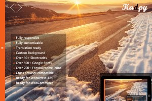 Kadpy - FullScreen WordPress Theme