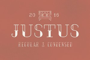 JUSTUS Regular & Condensed