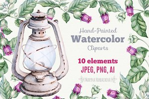 Watercolor Clipart