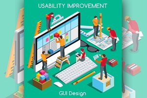GUI Design for Usability Improvement