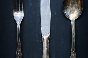 Minimal Series: vintage flatware