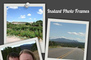 Instant Camera and Photobooth Frames