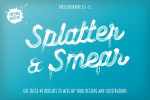 Splatter & Smear Brushes