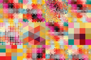 Bright Palette Patterns