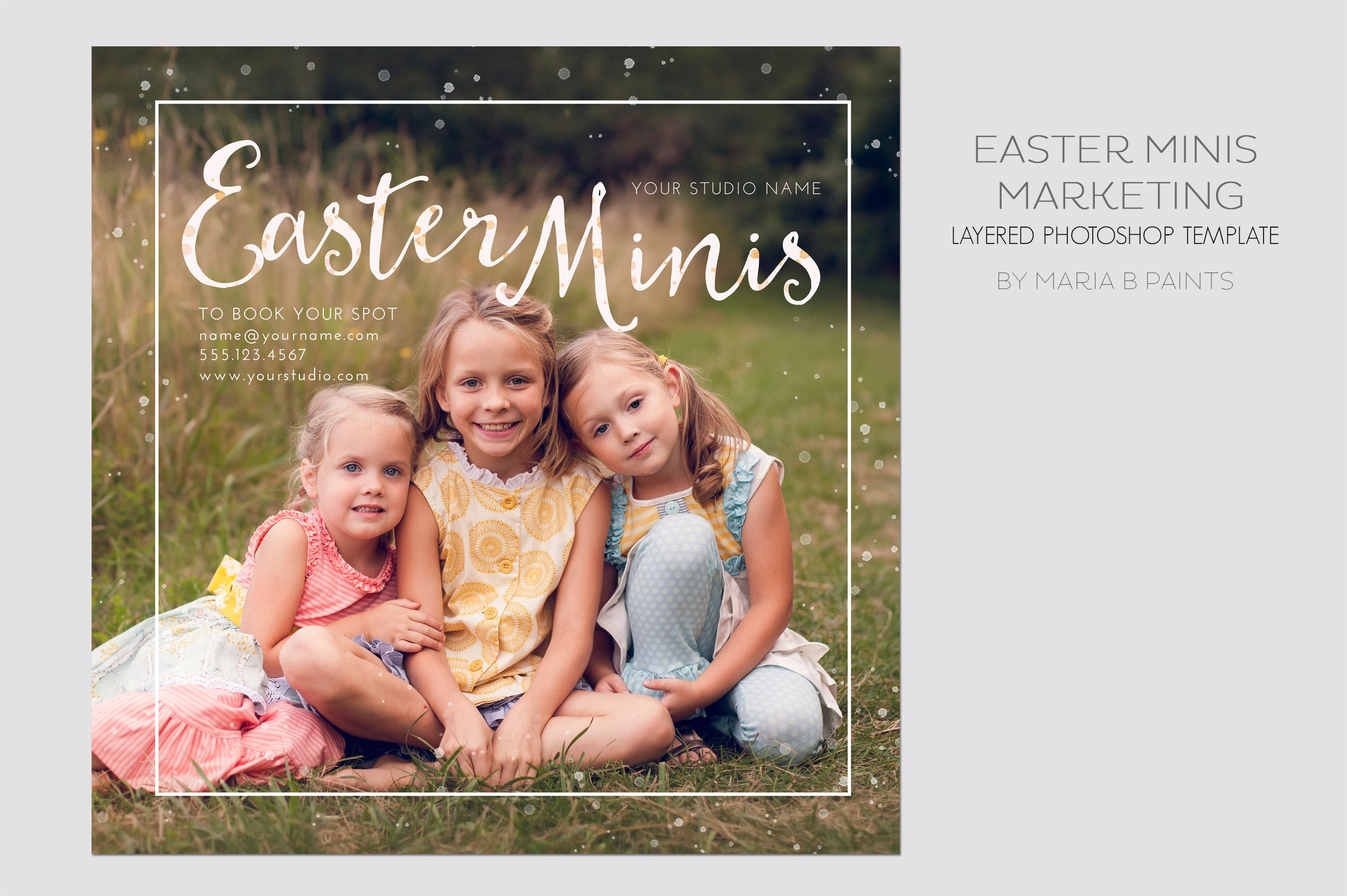 Mini Session Photography Template Flyer Templates Creative Market - Photography ad template