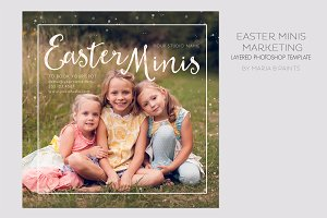 Mini Session Photography Template