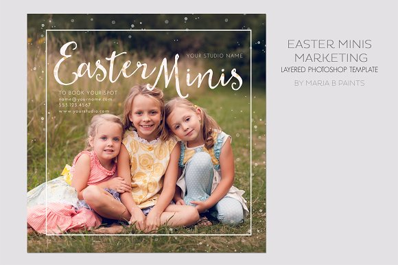 Mini Session Photography Template Flyer Templates Creative Market