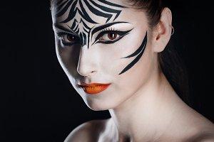 Girl zebra
