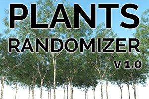 Plant Randomizer v1.0 for 3dsMax