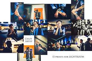 Crazy Artist- 13 Presets for LR