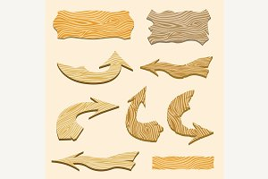 signs and arrows