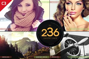 236 Diamond Grade Photoshop Actions