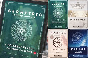 Geometric Flyers Bundle