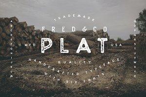 Plat | Sans Serif Typeface
