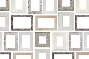Real Picture Frames Mockups