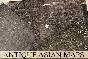 Antique Asian Maps