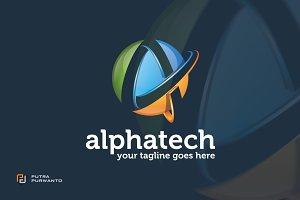 Alphatech / Letter A - Logo Template