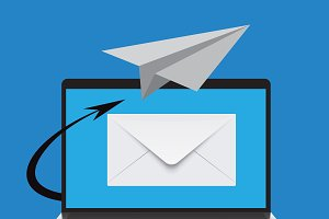 email marketing, vector