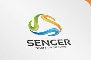 Senger - Logo Template