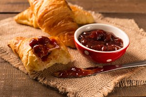 croissant for breakfast