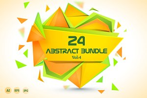 Creative Abstract Bundle Vol - 4