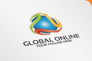 Global Online - Logo Template