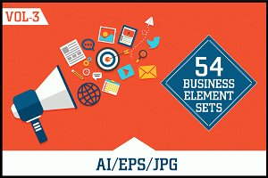 Business Elements Sets Vol - 3