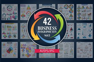 Business Infographic Sets Vol - 5