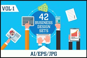 Business Design Sets Vol - 1