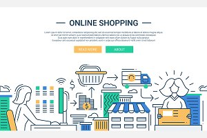 Online Shopping Website Banner