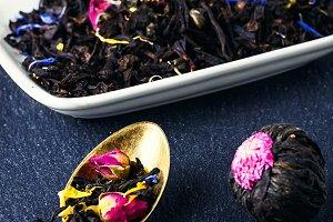 Varieties of teas