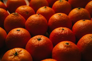 beautiful fresh orange