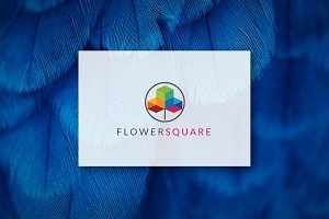 [68% off] FLOWERSQUARE - Logo Design
