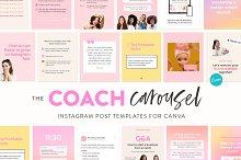 Coach Carousel Post Instagram Kit