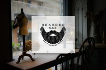 [68% off] Bearded Male - Logo Design