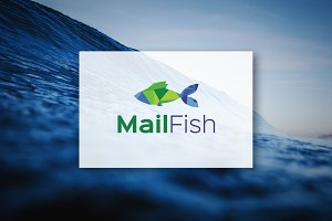 [68% off] MailFish - Logo Design