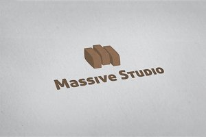 Massive Studio Logo Template