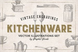 Kitchen Tools Engravings
