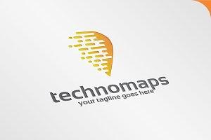 TecnoMaps - Logo Template