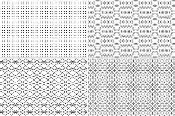 12 Seamless Geometric Patterns in Patterns - product preview 3