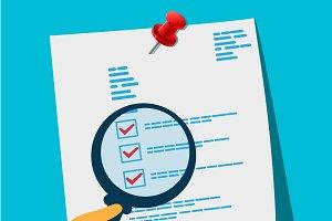 document analysis concept