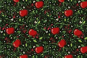 "Seamless pattern ""Apples"""