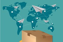 international delivery concept