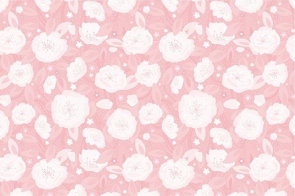 """Seamless pattern """"Spring"""""""