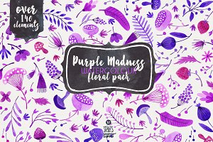 Purple Madness - Floral Pack