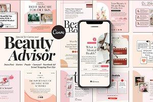 Insta Beauty Advisor Canva