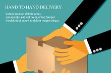 hand to hand delivery