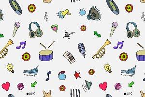 Music Doodle symbols